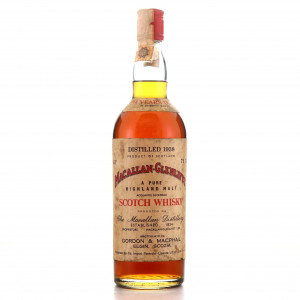 Macallan 1938 Gordon and MacPhail 35 Year Old / Co. Pinerolo Import