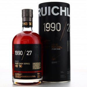 Bruichladdich 1990 Rare Cask Series 27 Year Old / HB '90