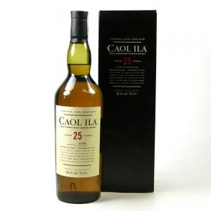 Caol Ila 1979 Cask Strength 25 Year Old 2005 Release