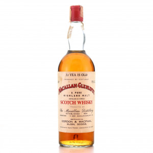 Macallan 33 Year Old Gordon and MacPhail 1970s / Co. Pinerolo Import
