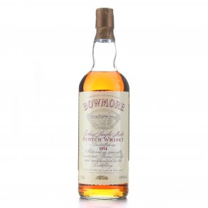 Bowmore 1974 Sherry Casks