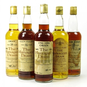 Manager's Dram Selection 5 x 70cl