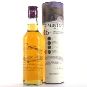 Tomintoul 16 Year Old 35cl / Personalised