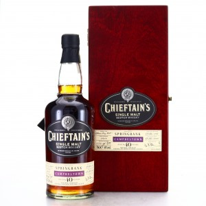 Springbank 1968 Chieftain's 40 Year Old