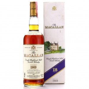 Macallan 1969 18 Year Old / Giovinetti Import