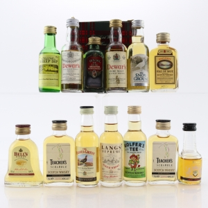 Blended Scotch Whisky Miniatures x 13