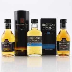 Highland Park Miniatures x 3