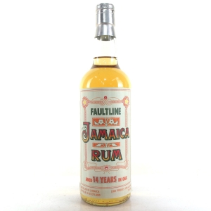 Faultline 14 Year Old Jamaica Rum 75cl / US Import