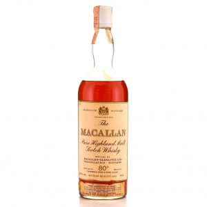 Macallan 1958 Campbell, Hope and King 80 Proof / Rinaldi Import
