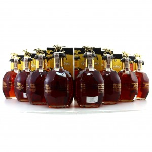 Blanton's Single Barrel Gold Edition 8 x 70cl / Complete Stopper Collection