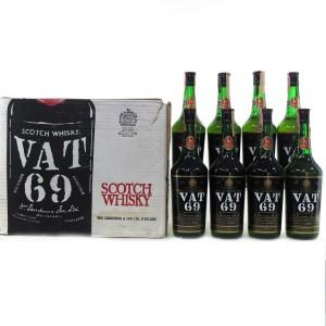 Vat 69 1980s Case 8 x 75cl