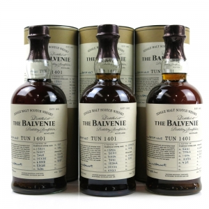 Balvenie Tun 1401 Batch #5, #6, #7 / 3 x 70cl
