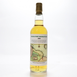 Diamond 2003 'Port Mourant' Auld Alliance Guyana Rum / Samaroli Private Stock