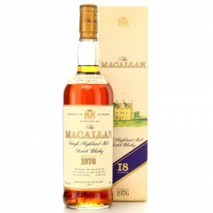 Macallan 1976 18 Year Old 75cl / Duty Free