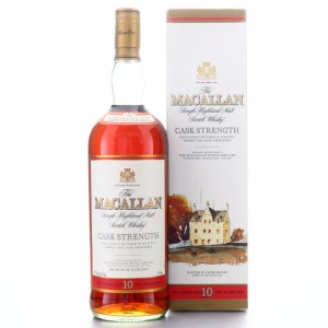 Macallan 10 Year Old Cask Strength 1 Litre early 2000s / 57.7%