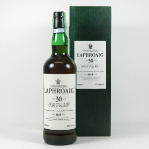 Laphroaig 30 Year Old 75cl Front