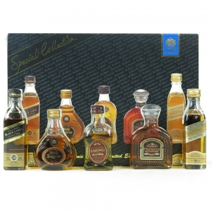 Johnnie Walker Special Collection 500 Years 5 x 5cl