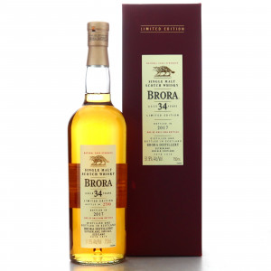 Brora 34 Year Old 2017 Release 75cl / US import