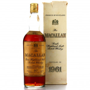 Macallan 1961 Campbell, Hope and King 80 Proof / Rinaldi Import