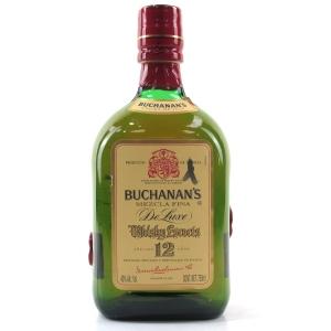 Buchanan's 12 Year Old De Luxe 75cl / Mexican Import