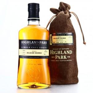 Highland Park 2004 Single Cask 14 Year Old #6116 / Belgian Vikings