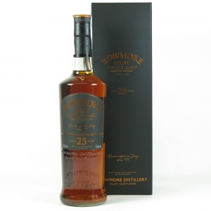 Bowmore 25 Year Old (2008 Release) Front