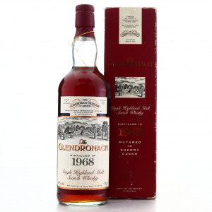 Glendronach 1968 Single Cask 25 Year Old #20 / All Nippon Airways
