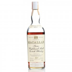 Macallan 1957 Campbell, Hope and King / RinaldiImport - Low Fill