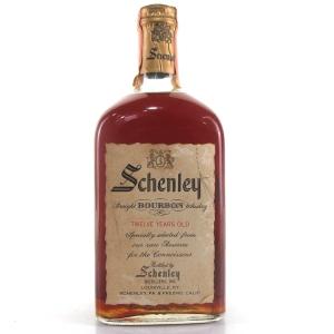 Schenley 12 Year Old Straight Bourbon 1960s