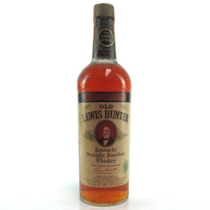 Old Lewis Hunter 6 Year Old Bourbon 1970s