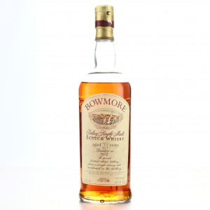 Bowmore 1972 Cask Strength 21 Year Old