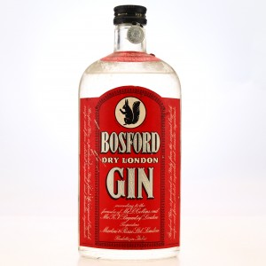 Bosford Dry London Gin 1950s