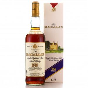 Macallan 1979 18 Year Old / Giovinetti Import