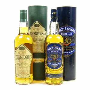 Auchentoshan Select & Loch Lomond 2 x 70cl