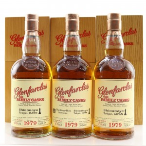 Glenfarclas 1979 Family Casks for Shinanoya 3 x 70cl / #8795, #8800, #8801