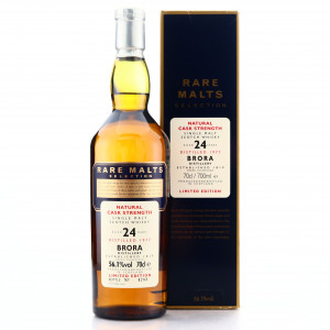Brora 1977 Rare Malt 24 Year Old / 56.1%
