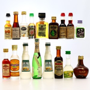 Spirits & Liqueur Miniatures x 15