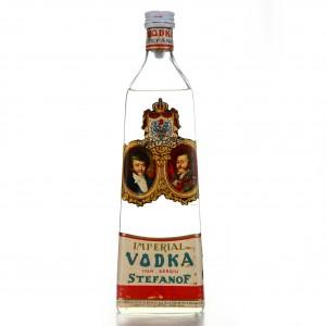 Stefanof Imperial Vodka 1950s