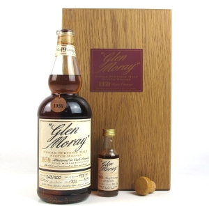 Glen Moray 1959 40 Year Old / Includes 5cl Miniature