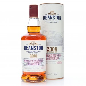 Deanston 2008 Bordeaux Red Wine Cask Matured 9 Year Old