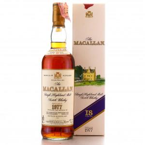 Macallan 1977 18 Year Old / Giovinetti Import