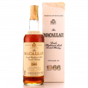 Macallan 1966 18 Year Old / Giovinetti Import