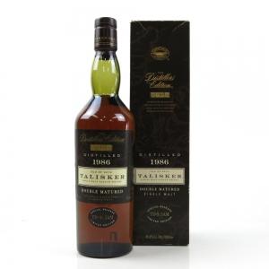 Talisker 1986 Distillers Edition / First release