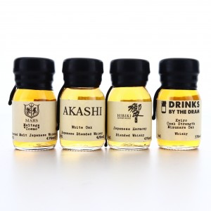 Japanese Drinks by the Dram Miniatures 4 x 3cl