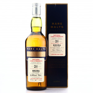 Brora 1977 Rare Malt 21 Year Old / 56.90%