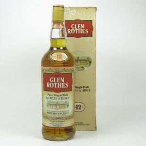 Glenrothes 12 Year Old 1980s Front