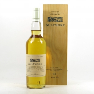 Aultmore 12 Year Old Flora and Fauna White Cap