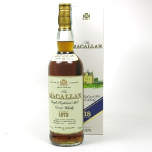 Macallan 1973 18 Year Old Front