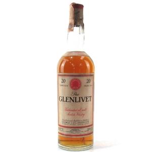 Glenlivet 20 Year Old 1960s / Baretto Import