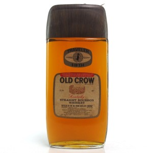 Old Crow Traveler Fifth Bourbon 1970s